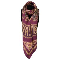 Imperial Russian Silk Scarf