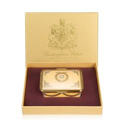 Limited Edition Imperial Russian Yellow and Gold Pillbox