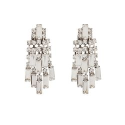 Buckingham Palace Crystal Waterfall Earrings
