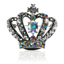 Buckingham Palace Large Crown Brooch