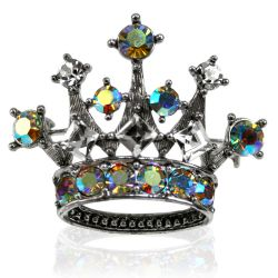Buckingham Palace Small Crown Brooch