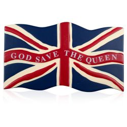 Buckingham Palace God Save The Queen Magnet