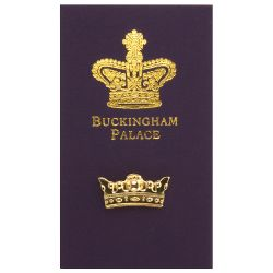 Buckingham Palace Gold Crown Pin Badge