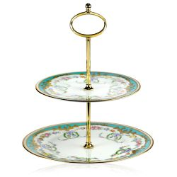 Buckingham Palace Great Exhibition 2 Tier Cake Stand