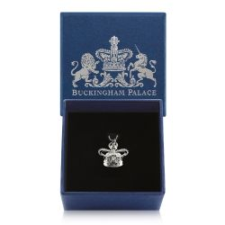 Buckingham Palace Silver Crown Charm