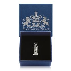 Buckingham Palace Silver Guardsman Charm