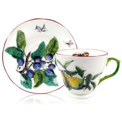 Buckingham Palace Chelsea Porcelain Coffee Cup and Saucer