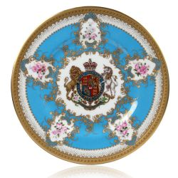 Buckingham Palace Coat of Arms Salad Plate