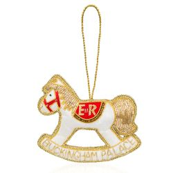 Buckingham Palace EIIR Rocking Horse Decoration