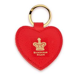Buckingham Palace Heart Key Fob