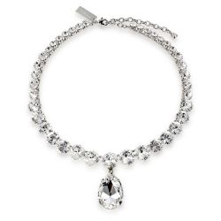 Coronation Swarovski crystal necklace inspired on Her Majesty Queen Elizabeth II original coronation necklace.