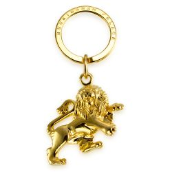 Buckingham Palace Gold Lion Keyring