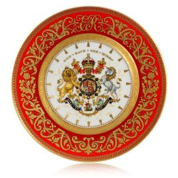 Buckingham Palace Coronation Commemorative Side Plate