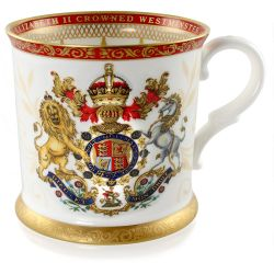 Buckingham Palace Coronation Commemorative Tankard