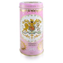 Buckingham Palace Strawberry and Clotted Cream Shortbread Biscuit Tin