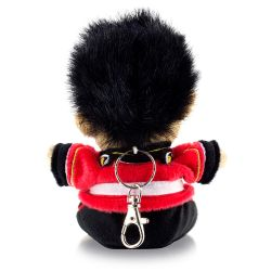 Buckingham Palace Plush Guardsman Keyring