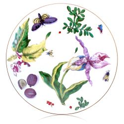 Buckingham Palace Chelsea Porcelain Orchid Table Mat