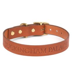 Buckingham Palace Dog Collar Medium