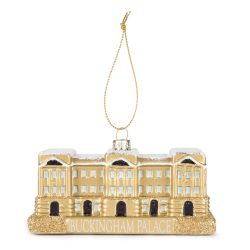 Buckingham Palace Façade Glass Ornament