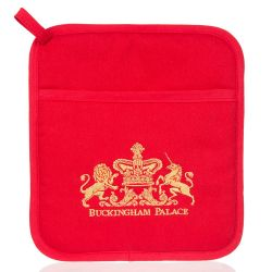 Buckingham Palace Red Pot Holder