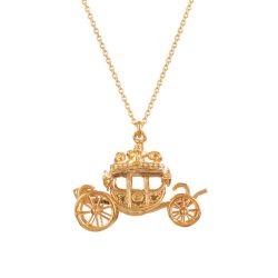 Alex Monroe for Buckingham Palace Coach Pendant