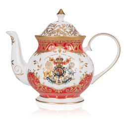 Buckingham Palace Coronation Commemorative Teapot