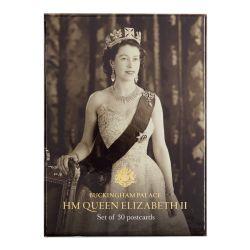 Buckingham Palace HM Queen Elizabeth II Postcard Set