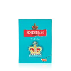 Buckingham Palace Crown Pin Badge