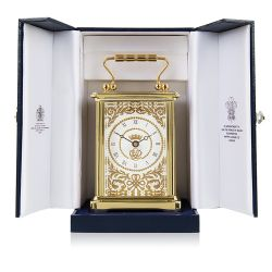 Limited Edition 70th Wedding Anniversary Carriage Clock
