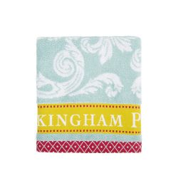 Buckingham Palace Blue Hand Towel