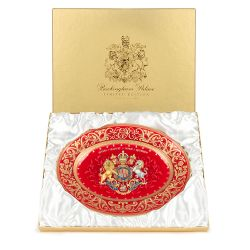 Limited Edition Coronation Oval Charger