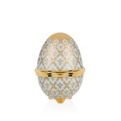 Buckingham Palace Blue Minton Egg