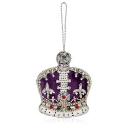 Buckingham Palace Imperial State Crown Decoration