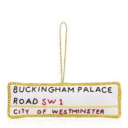 Buckingham Palace London Street Sign Decoration