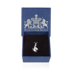 Buckingham Palace Silver Teacup Charm