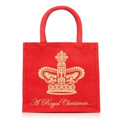 Buckingham Palace Christmas Juco Bag