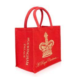 Buckingham Palace Christmas Juco Bag