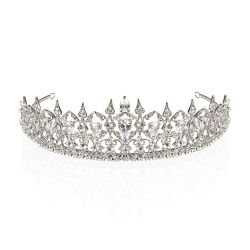 Buckingham Palace Crystal Crown Tiara