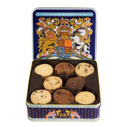 Longest Reigning Monarch Chocolate Biscuit Tin