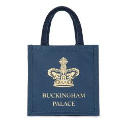 Buckingham Palace Navy Mini Juco Bag