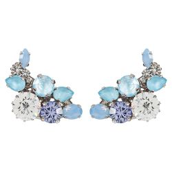 Vicki Sarge Pastel Blue Clip Cuff Earrings