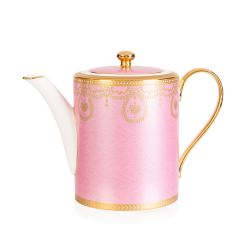 Imperial Russian Pink Coffee Pot