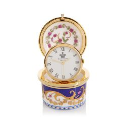 Limited Edition Queen Victoria Pillbox Clock