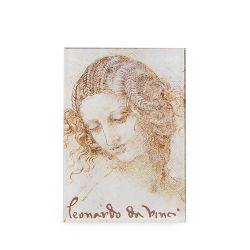 Leonardo Da Vinci Head of Leda Magnet