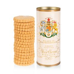 Palace of Holyroodhouse Ginger Shortbread Tube