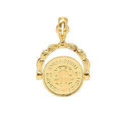Victorian Coin Charm