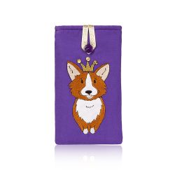 Buckingham Palace Corgi Glasses Case