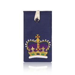 Buckingham Palace Crown Glasses Case