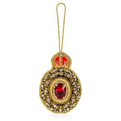 Windsor Castle Red Jewel Decoration