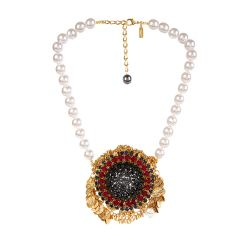 Vicki Sarge Poppy Burst Necklace